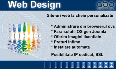 Web Design CLASIC Inregistrari hosting romania .ro .net